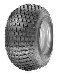 Staggered Knobby Tires